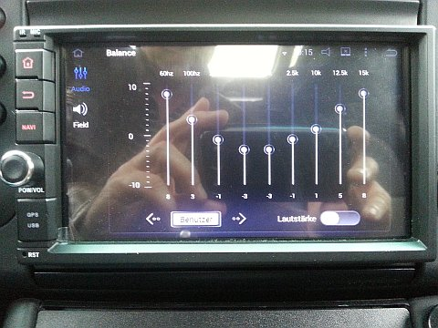Sound per Equalizer einstellen