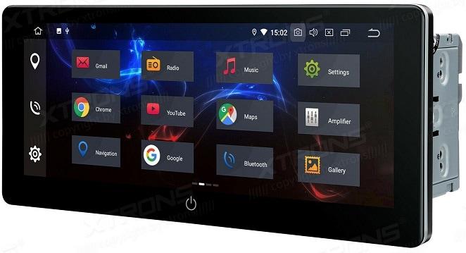Xtrons Universalgerät mit großem Display