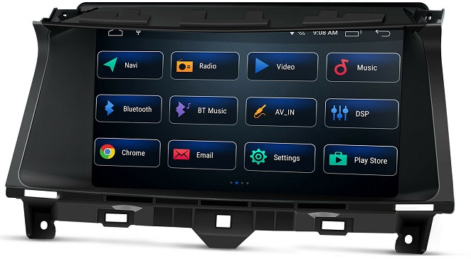Xtrons Android 10 für Honda Accord 2008 - 2012