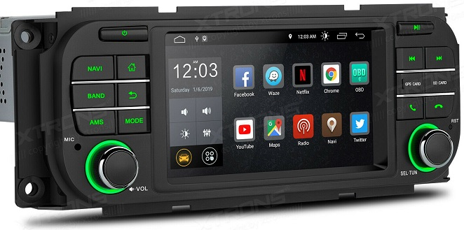 Xtrons Android 10 für Jeep
