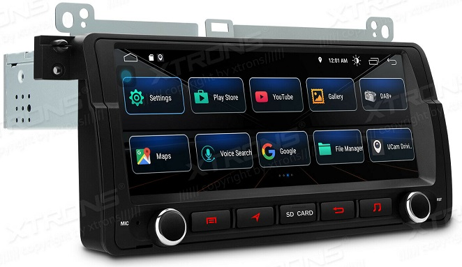 Xtrons Android 10 für BMW E46