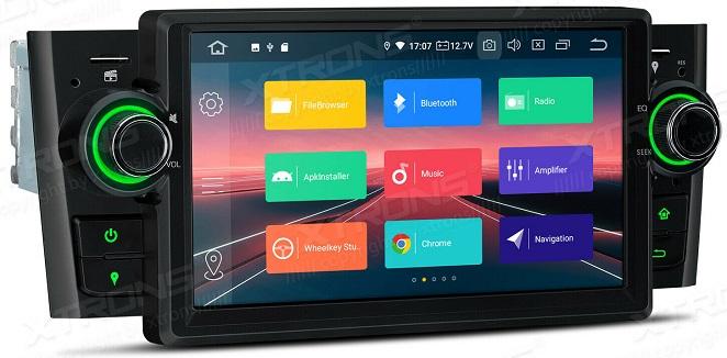 Xtrons Android 10 für Fiat Grande Punto und Linea
