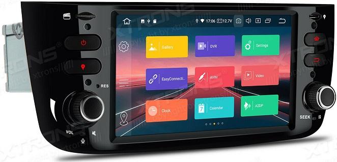 Xtrons Android 10 für Fiat Punto und Linea