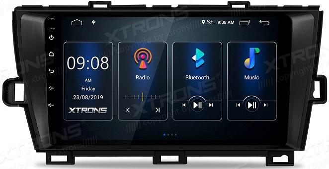 Xtrons Quad Core für Toyota Prius